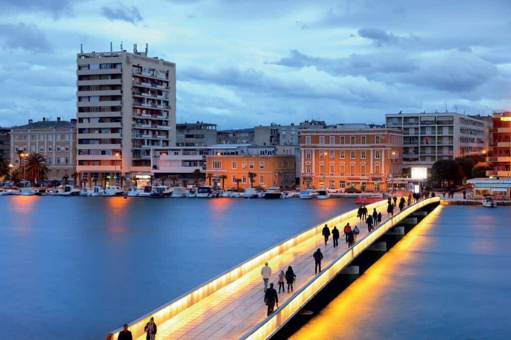 Ovo je fotografija mosta grad Zadar