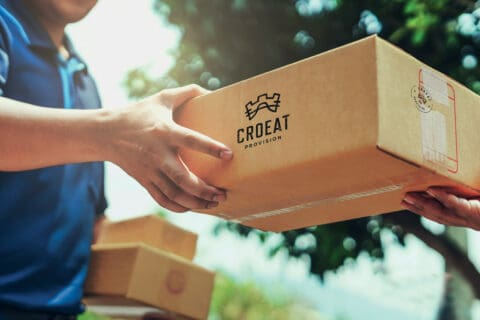 Ovo je fotografija Croeat dostave