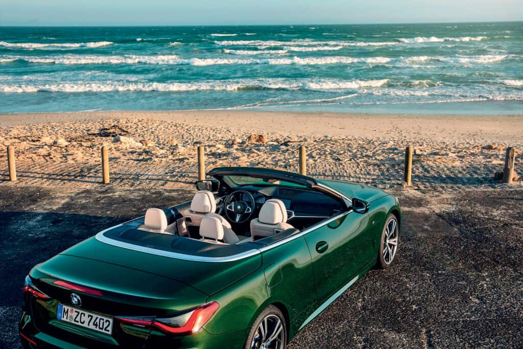 This is photo of a new BMW 4 series Convertible