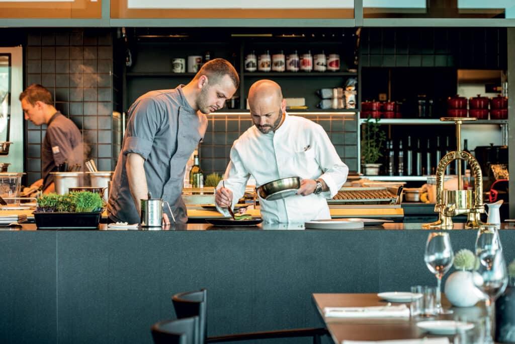 Ovo je fotografija kuhinje Cap Aureo