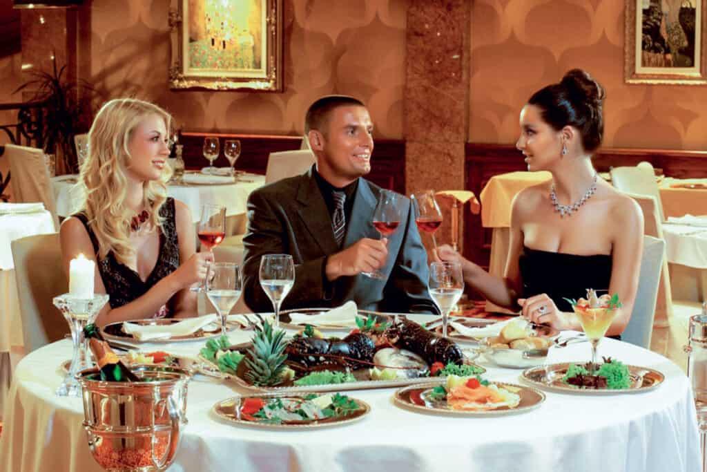 Ovo je fotografija restorana Lux casino Hotel Mulino