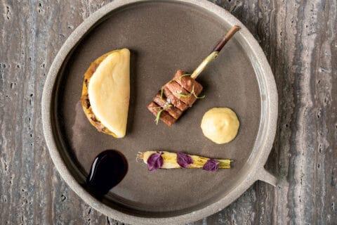 Ovo je fotografija serviranog jela, Cap Aureo