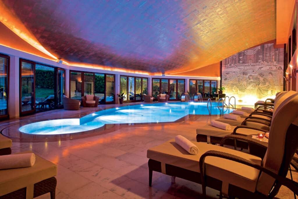 Ovo je fotografija wellness bazena Hotel Mulino