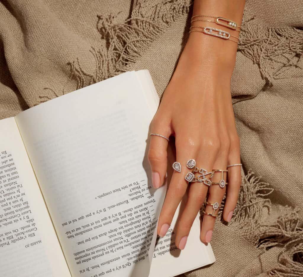 ovo je fotografija Messika dijamantno prstenje
