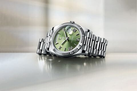 ovo je fotografija Rolex Oyster Perpetual Day-Date
