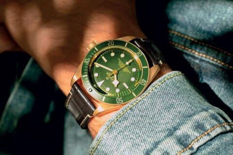 Ovo je fotografija sata Tudor Black bay Fifty-Eight