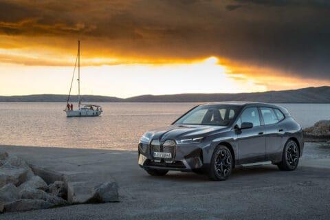 Ovo je fotografija novog BMW ix