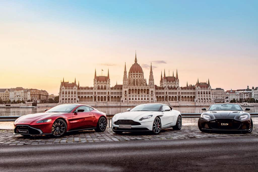 This is photo of a Aston Martin Budapest
