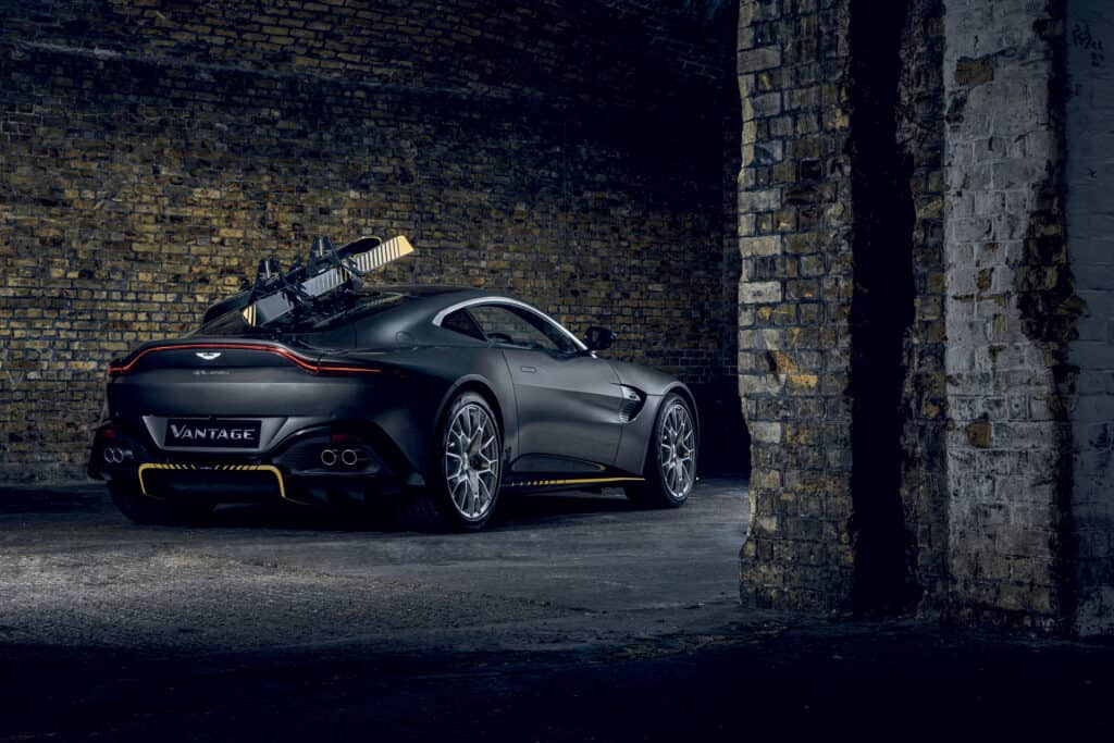 This is photo of a Aston Martin Vantage 007 Edition