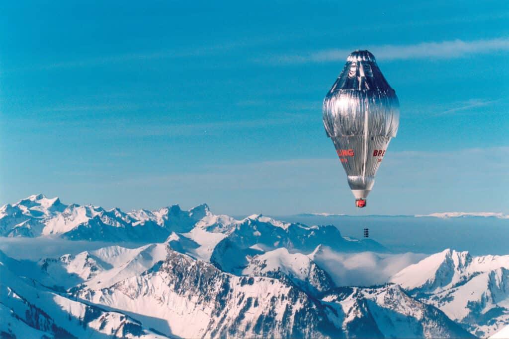 Ovo je fotografija balona kojim je letio Bertrand Piccard