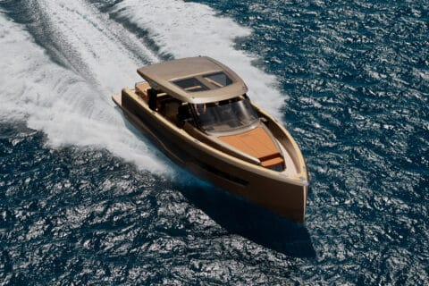This is photo of a new Fjord 53XL running