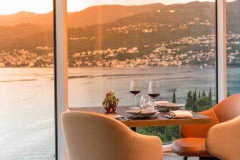 ovo je fotografija restorana Nebo, Hilton Rijeka