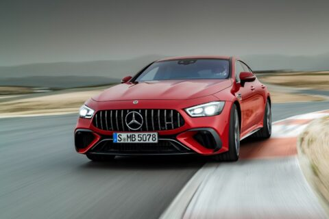 Ovo je fotografija Mercedes-AMG GT 63 S E PERFORMANCE