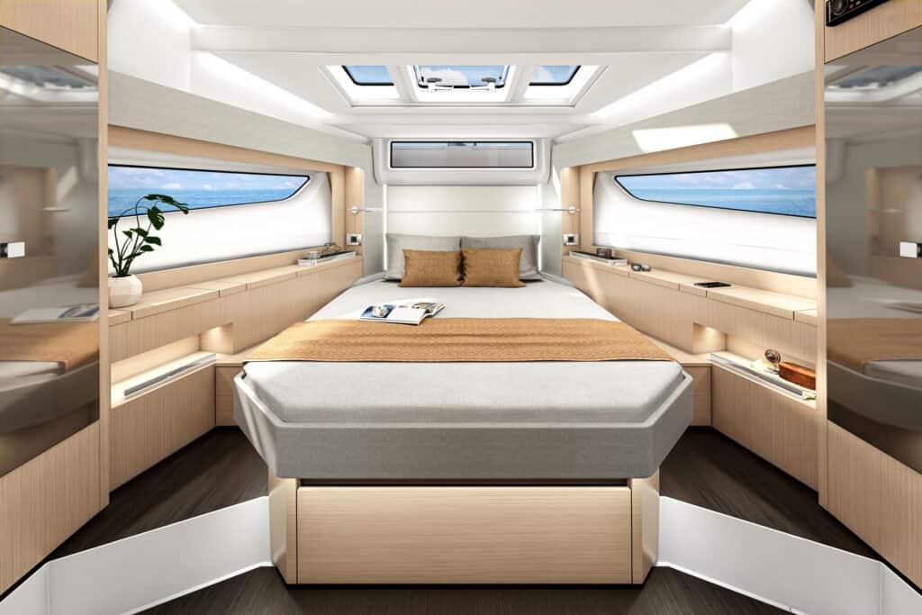Ovo je kabine modela Sealine S390