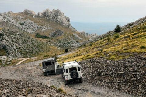 Ovo je fotografija sa Velebit jeep safari
